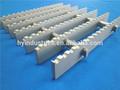 Anti- deslizamiento mejor precio pasarela de aluminio suelo de rejilla