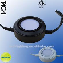 cETL ETL Listed 3W Round LED Metal Puck Light