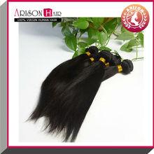 Full cuticle silky straight virgin hair cambodian