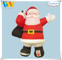 New Design Lowest Christmas Inflatable Santa Decoration, Christmas Decoration Santa
