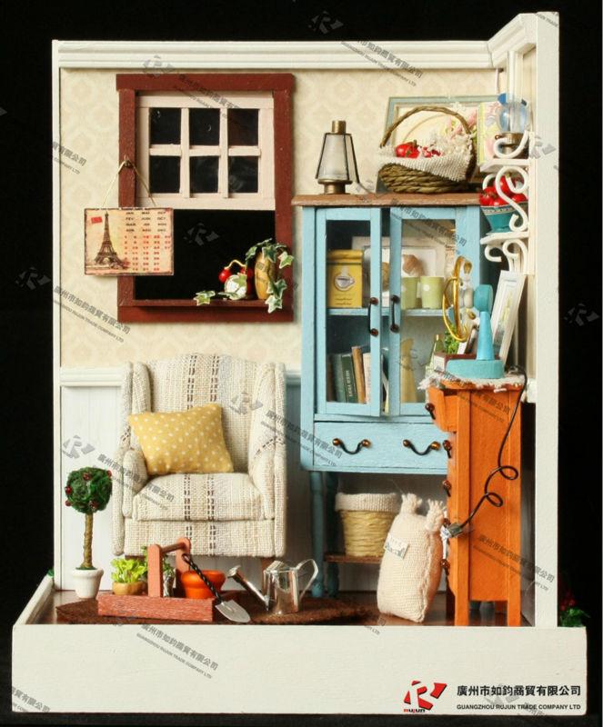 Ni os juguetes miniatura casa de mu ecas bricolaje - Bricolaje para casa ...