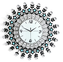Elegant Decorative Iron Wall Clocks for Living Room/ Bedroom