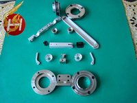 customized cnc machining / forging china embroidery machine spare parts