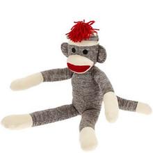 factory direct sock monkey,custom plush toys