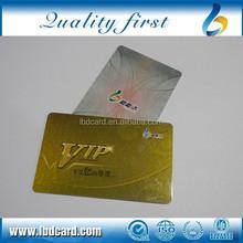 CMYK printing custom design gold business cards