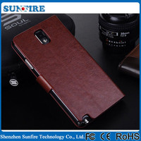 Factory Wholesale Flip Case Cover for Samsung Galaxy Note3 neo
