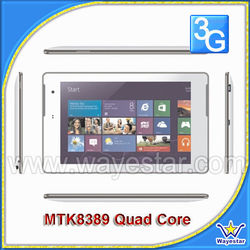 7inch IPS 1280*800 Quad Core Phablet MT8389 with Removable/Rechargable Li battery/GPS/HDMI/ WI-FI hotspot