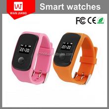 SOS button watch gps tracker smart watch phone for kids/elder