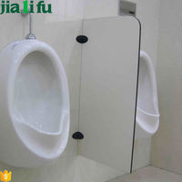 Promotional custom bathroom urinal screens toilet stall wall divider