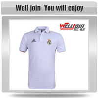 Custom White Polo T-Shirt with Embroidery Logo
