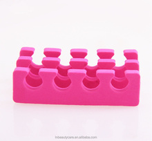 Factory directly !!! 5 Pairs x Finger Toe Separator High Quality EVA Sponge Foam Nail Art Pedicure