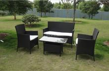 2015 modern luxury outdoor rattan kd furniture\kd sofa\wicker chair