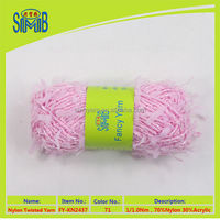 yarn for Fantasia knitting scarf made in China fancy yarn for hand knitting
