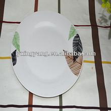 nice decal porcelain plate set , ceramic plate , dinnerware