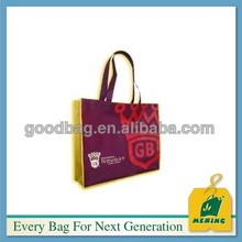 Target reusable rpet bag 100% recycled non woven bag full color
