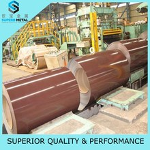 Jiangsu building construction material of wooden pattern painted galvanized steel coil