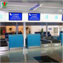 Airport/subway/hospital/mall reception desk counter