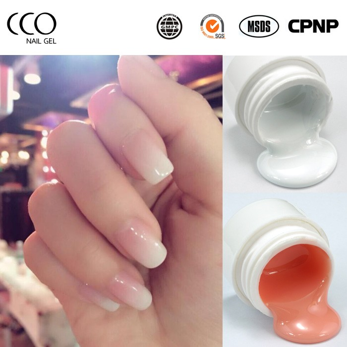 Cco Nail Clear Uv Builder Gel For Extension Glitter Uv Builder Gel ...