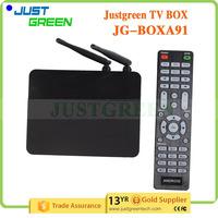 Justgreen Android 5.1.1 TV BOX JG-BOXA91 PowerVR G6110 GPU DDR3 2GB RAM Support MicroSD(TF) Up to 32GB