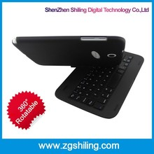 360 degree rotating foldable wireless aluminium alloy OEM/ODM Bluetooth Keyboard For Samsung 5100
