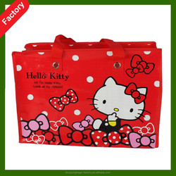 hot new products for 2015 color pp woven bag, color printed pp woven bag, pp bag woven