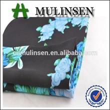 de impresión mulinsen lana de melocotón poliéster tejido de tela textil de empresas comerciales