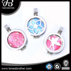 316L Stainless Steel Jewelry 33mm coin locket with interchangeable shell