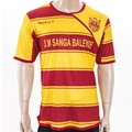 2014 clube qualidade Thai jérsei de futebol uniformes de futebol por atacado barato uniformes da equipe de futebol