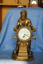 brass sailer clock