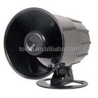 6 tone Speaker Design and ABS Material alarm siren speaker CAR/AUTO SECURITY ALARM SYSTEM SIREN