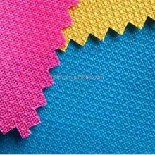 PU coated 100% polyester dobby fabric for bags/luggage