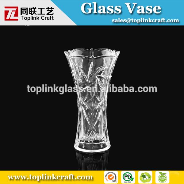 Grand rond vase en verre transparent pour la fleur vases en verre cristal id du produit - Vase rond en verre ...