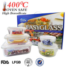 L Houseware large glass container manufacturers