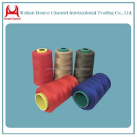 made in china Count NE 20S/1 20/2 100% virgin TFO polyester sewing thread