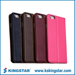 Mobile phone accessories for iphone 6 leather case