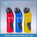 Colorful 750ML Plastic Sport Water Bottle with lid