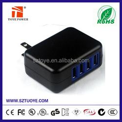 High Performance 5000mAh External Backup Solar Powered Dual Mini USB Charger