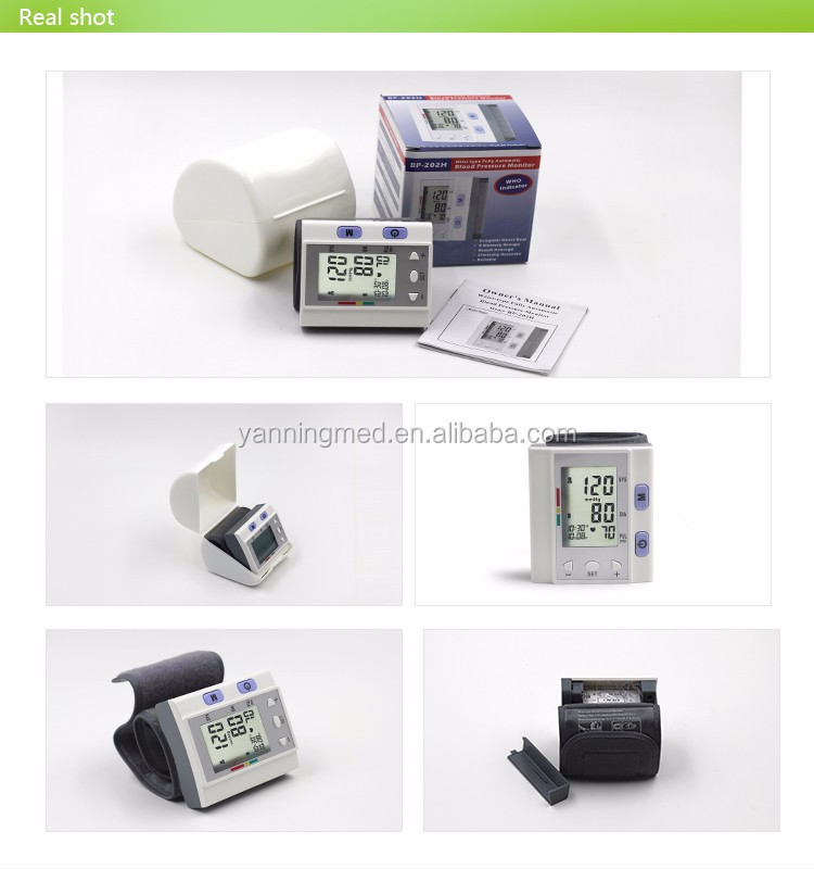 Superior quality ce rohs fcc approval wrist type backlight blood pressure monitor,blood pressure monitor wrist cuff