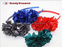 New product Three-dimensional three flower hair band Girls hair band fashion classic four color Foreign trade the original singl