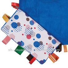 Baby doudou blanket colorful comforter