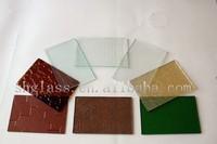 New!! hot sale Marble/rock/wood grain design Decorative glass/art glass Painted glass