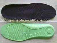 Latex insole footcare products inner sock arch cookies memory foam shoe inserts shock absorption insock