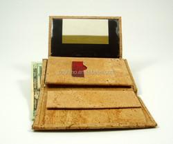 BOSHIHO cork fabric vegan wallets natural eco friendly innovative products