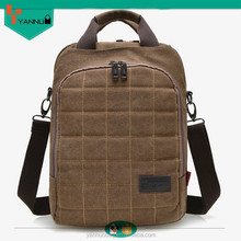 custom cheap original designer multifunction plain laptop canvas handbag with trolley for teenage boys