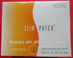 100% natural and herbal slim patch,effective weight loss patch (30 patches)