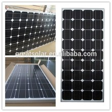 Factory price monocrystalline silicon solar PV module, solar plates, solar power system Chinese supplier 100W for global markets