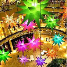 inflatable holiday decoration star hang on wedding & stage ,night club star