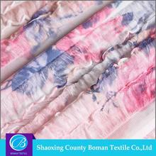 Textile supplier 2016 new Fancy Beef tripe wholesale pleated chiffon fabric