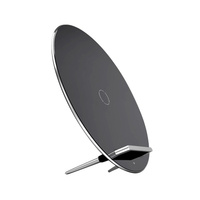 Super slim 3 coils Qi wireless charger luna wireless charging pad