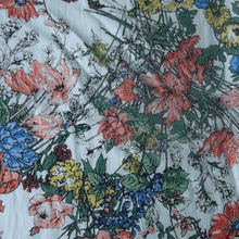 Floral Printing Rayon Fabric For Dress